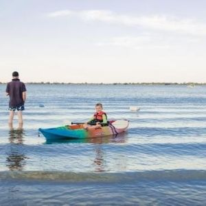 Kayaking Lake Boga Swan Hill