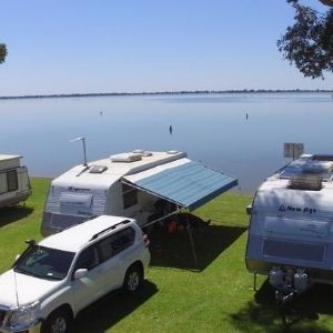 Lake Boga Waterfront Caravan Site